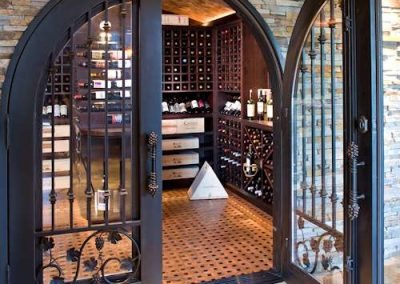 Bearpath Renovation wine cellar