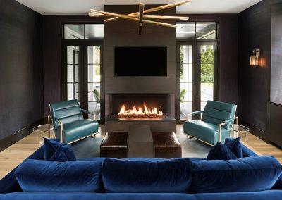 John Kraemer & Sons Edina Belgian Modern living room