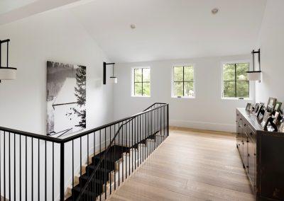 John Kraemer & Sons Edina Belgian Modern stairway