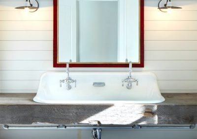John Kraemer & Sons Brainerd Lakes Shingle Style bathroom