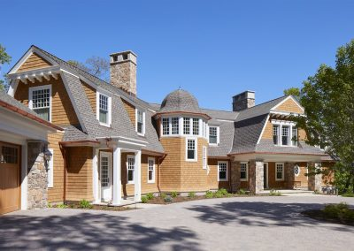 Brainerd Lakes Shingle Style by homebuilder John Kraemer & Sons