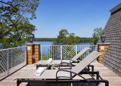 John Kraemer & Sons Brainerd Lakes Shingle Style sun deck
