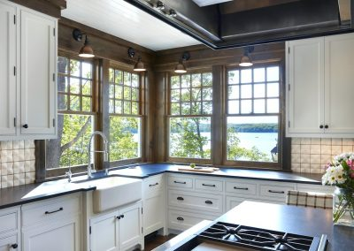 John Kraemer & Sons Brainerd Lakes Shingle Style kitchen