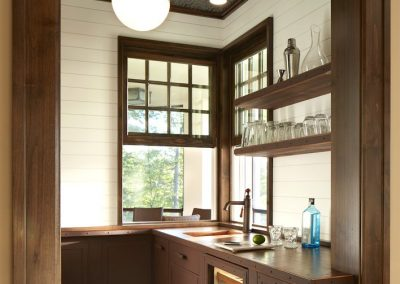 John Kraemer & Sons Brainerd Lakes Shingle Style pantry