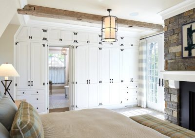 John Kraemer & Sons Brainerd Lakes Shingle Style bedroom