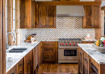 Buffalo Lake custom Home kitchen
