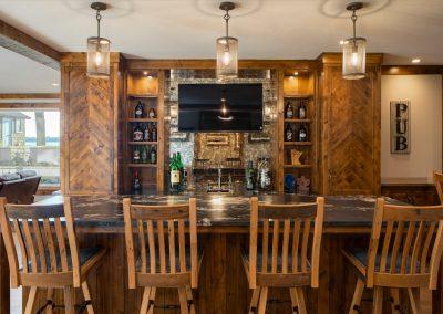 Buffalo Lake custom Home