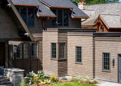 Buffalo Lake custom Home garage