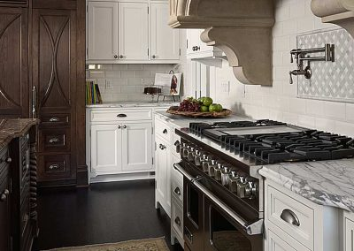 kitchen in Historic Renovation in Crocus Hill