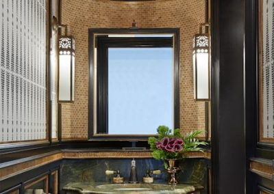 Edina French Mediterranean guest bath