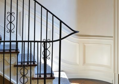 Edina French Mediterranean staircase