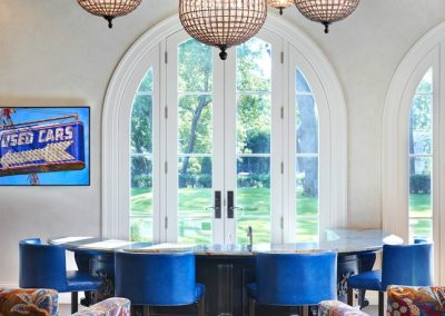 Edina French Mediterranean breakfast nook