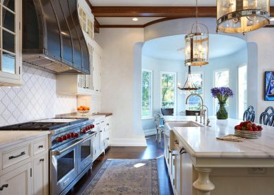 Edina French Mediterranean kitchen