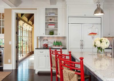 kitchen in Edina Country home