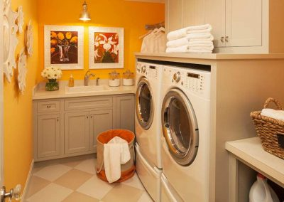 laundry room in Edina Country home