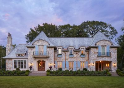 French Country home in St. Paul constructed by John Kraemer & Sons