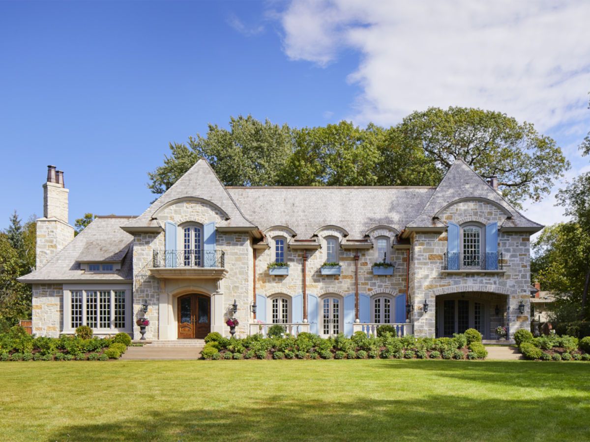 French Country Home in St. Paul