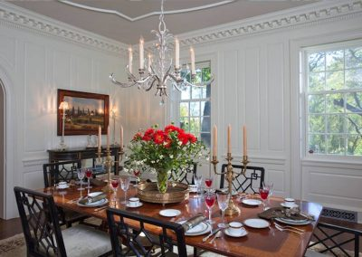 dining room in Historic Renovation in St. Paul