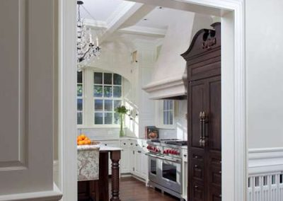 kitchen in Historic Renovation in St. Paul