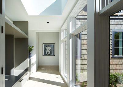 hallway in Wayzata Modern estate