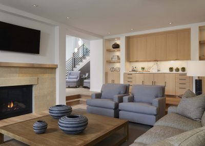 living room in Wayzata Modern estate