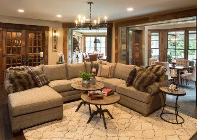 John Kraemer & Sons Bearpath Renovation living room