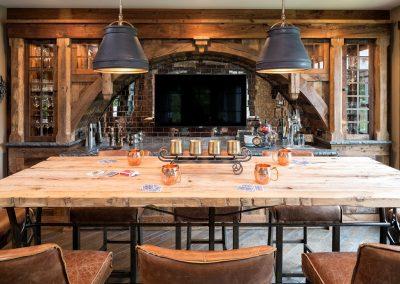 Bearpath Renovation dining room