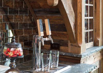 Bearpath Renovation wet bar