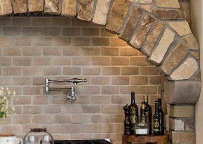 Bearpath Renovation kitchen range