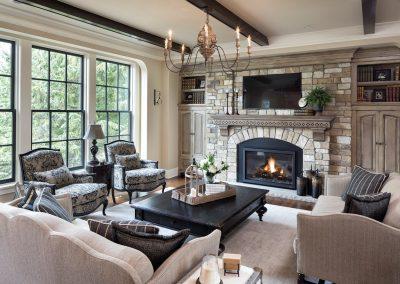 Bearpath Renovation living room