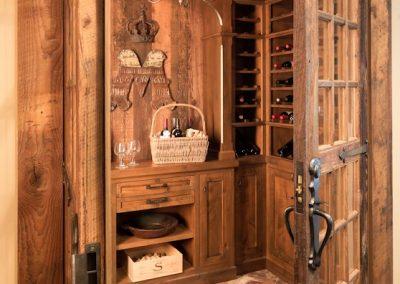 Bearpath Renovation wine room