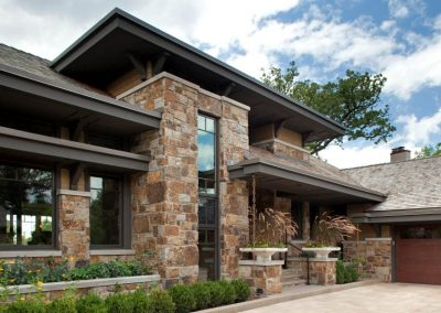 Wayzata Arts and Crafts style home by builders John Kraemer & Sons