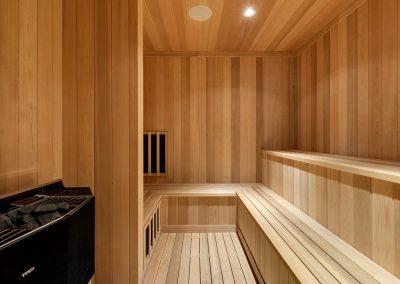 Deephaven sauna