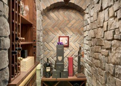 Deephaven wine cellar