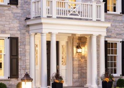 Edina Colonial by custom homebuilders John Kraemer and Sons