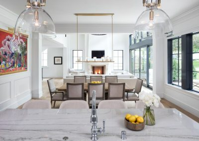 John Kraemer & Sons Edina French Modern dining room
