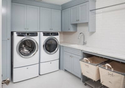 John Kraemer & Sons Edina French Modern laundry room