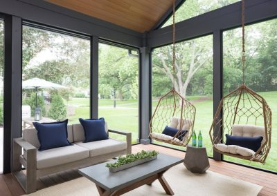John Kraemer & Sons Edina French Modern sunroom