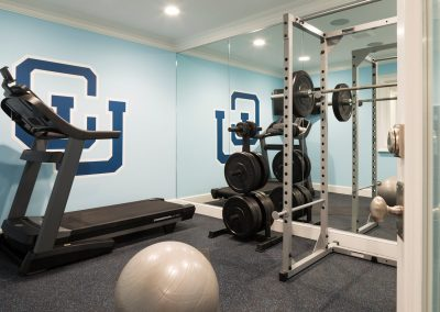 John Kraemer & Sons Edina French Modern workout room