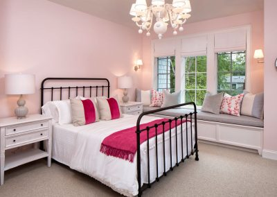 child bedroom in Edina Shingle Style Home