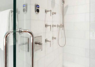 Garrison Landing Condo in Wayzata, MN shower stall