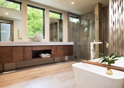 master bath in Lake Calhoun Organic Modern style home