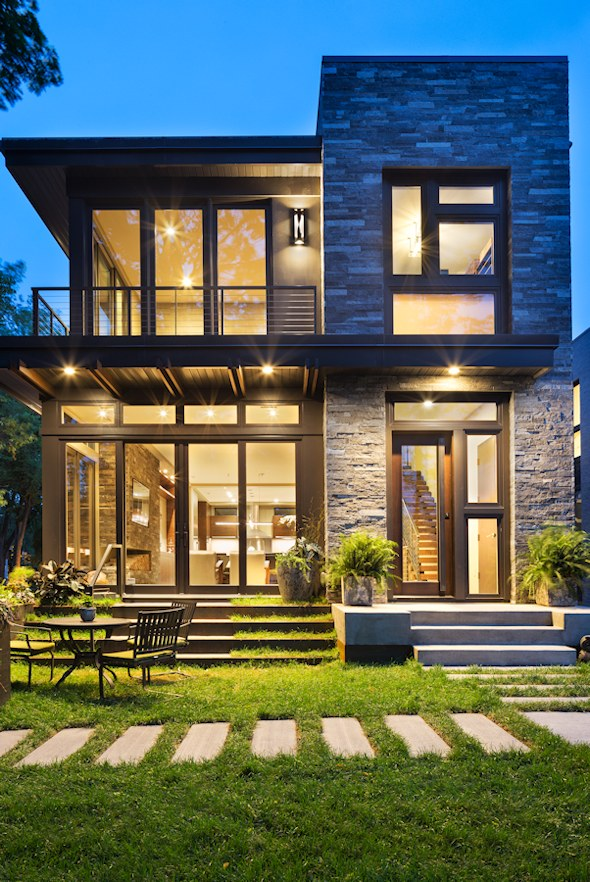 Lake calhoun organic modern john kraemer sons for Modern house design bloxburg