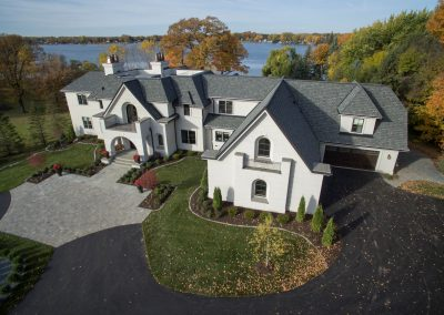 Lake Minnetonka Chateau constructed by John Kraemer & Sons