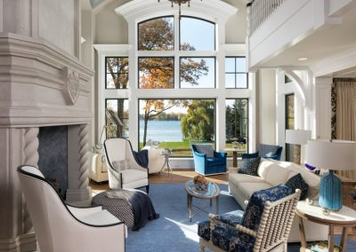 John Kraemer & Sons Lake Minnetonka Chateau great room