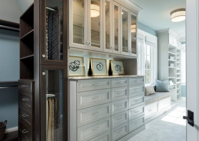 John Kraemer & Sons Lake Minnetonka Chateau walk-in closet