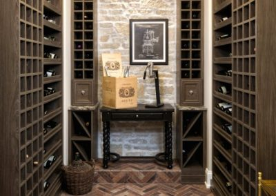 John Kraemer & Sons Lake Minnetonka Chateau wine cellar