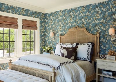 John Kraemer & Sons Medina Pool House bedroom