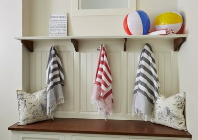 John Kraemer & Sons Medina Pool House mudroom
