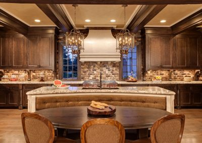 kitchen in MN River Estate